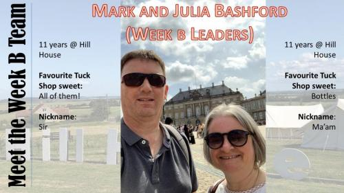 Mark and Julia