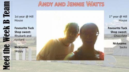 Andy and Jenny